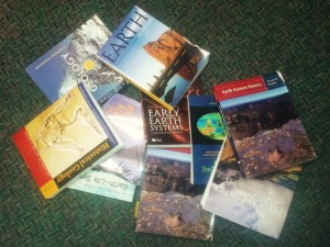 Texbooks for Earth Sciences