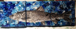 White Fish_Mixed Media