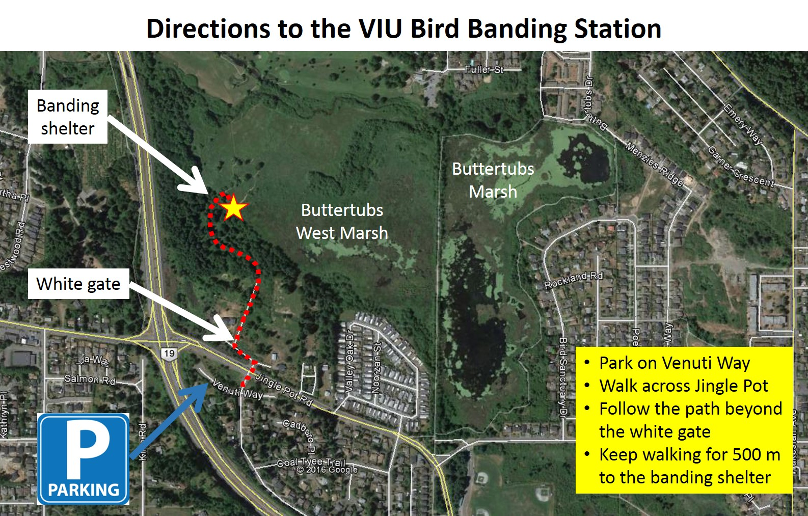 viu-banding-station-directions