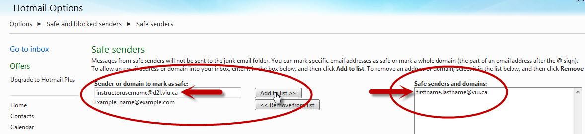 hotmail-add-safesender